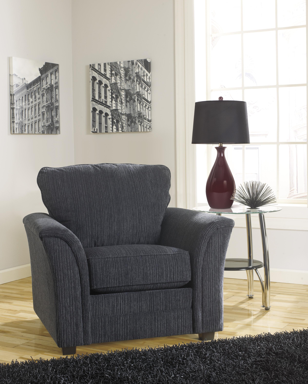 Furnituremaxx.com Devante Contemporary Black Fabric Chair