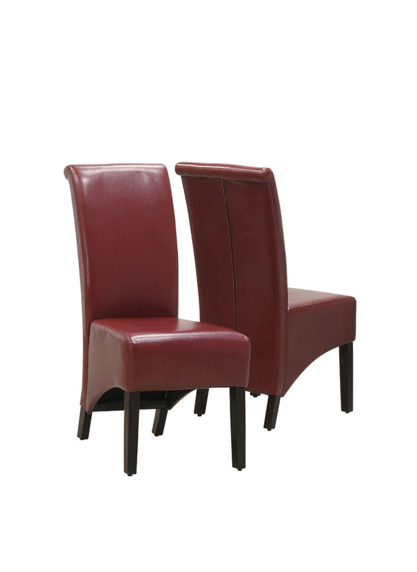 Furnituremaxx Burgundy Leather-Look 40